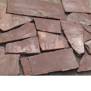 red sandstone random shaped