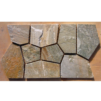 matted slate flagstone tile