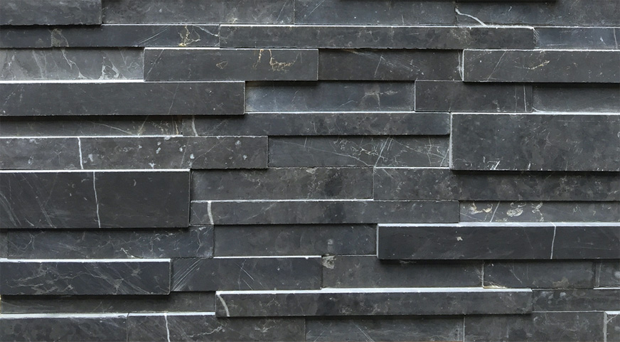 3D-stone panel natural stone limestone wall cladding JRED-030