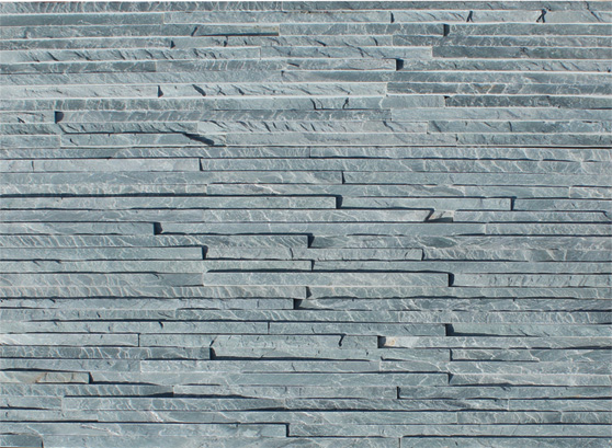 Wall natural slate stone cladding thin strips JRT-003