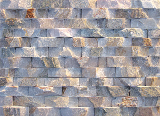 Landscaping slate rock wall cladding panel JRM1-014